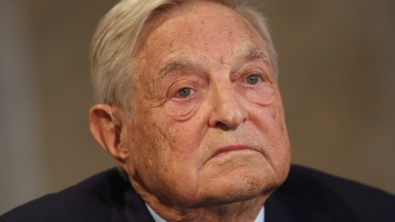 AP fact check: Soros didn't back Colorado Kavanaugh accuser