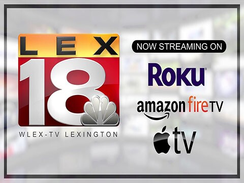 Watch local news anytime!  Search LEX 18 on your favorite device!