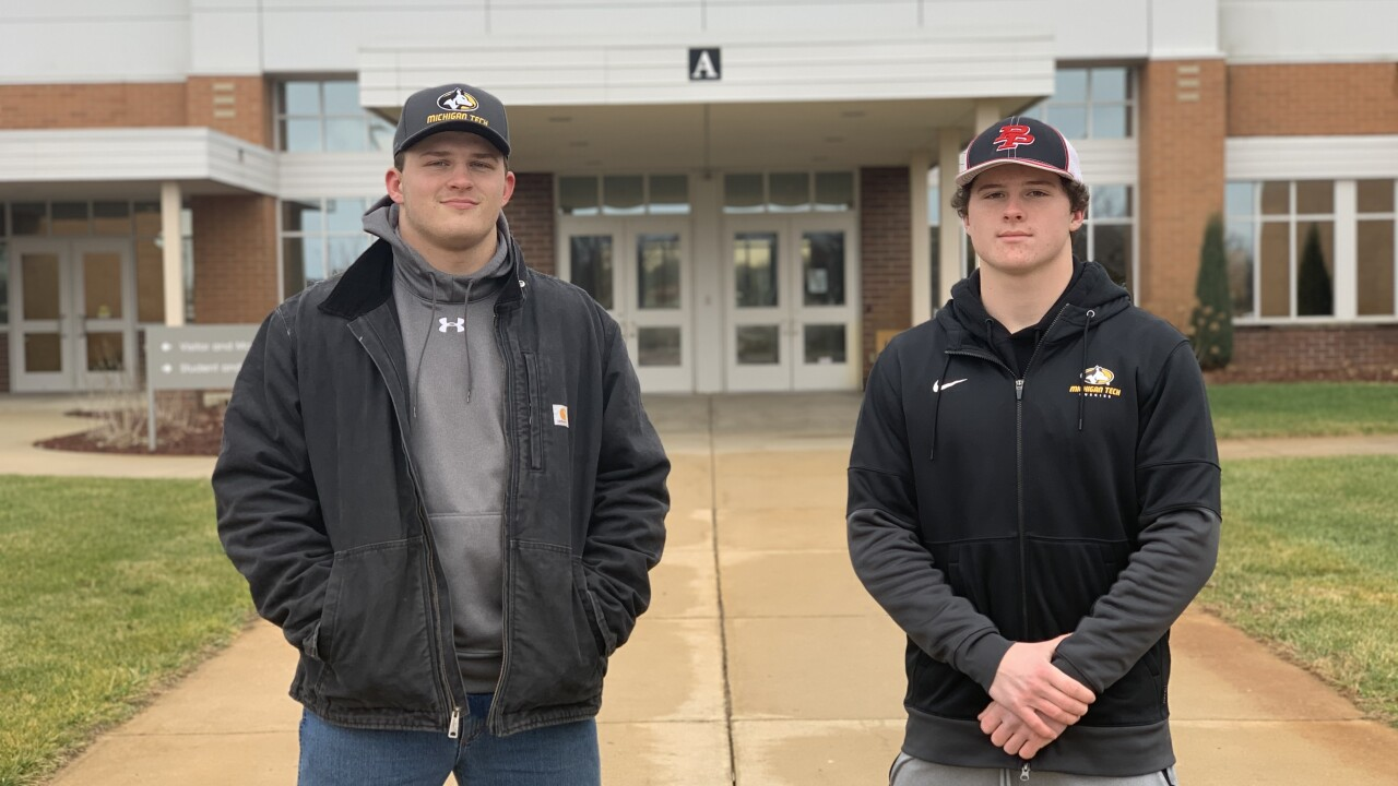 Kolby and Connor Hindenach commit to Michigan Tech football