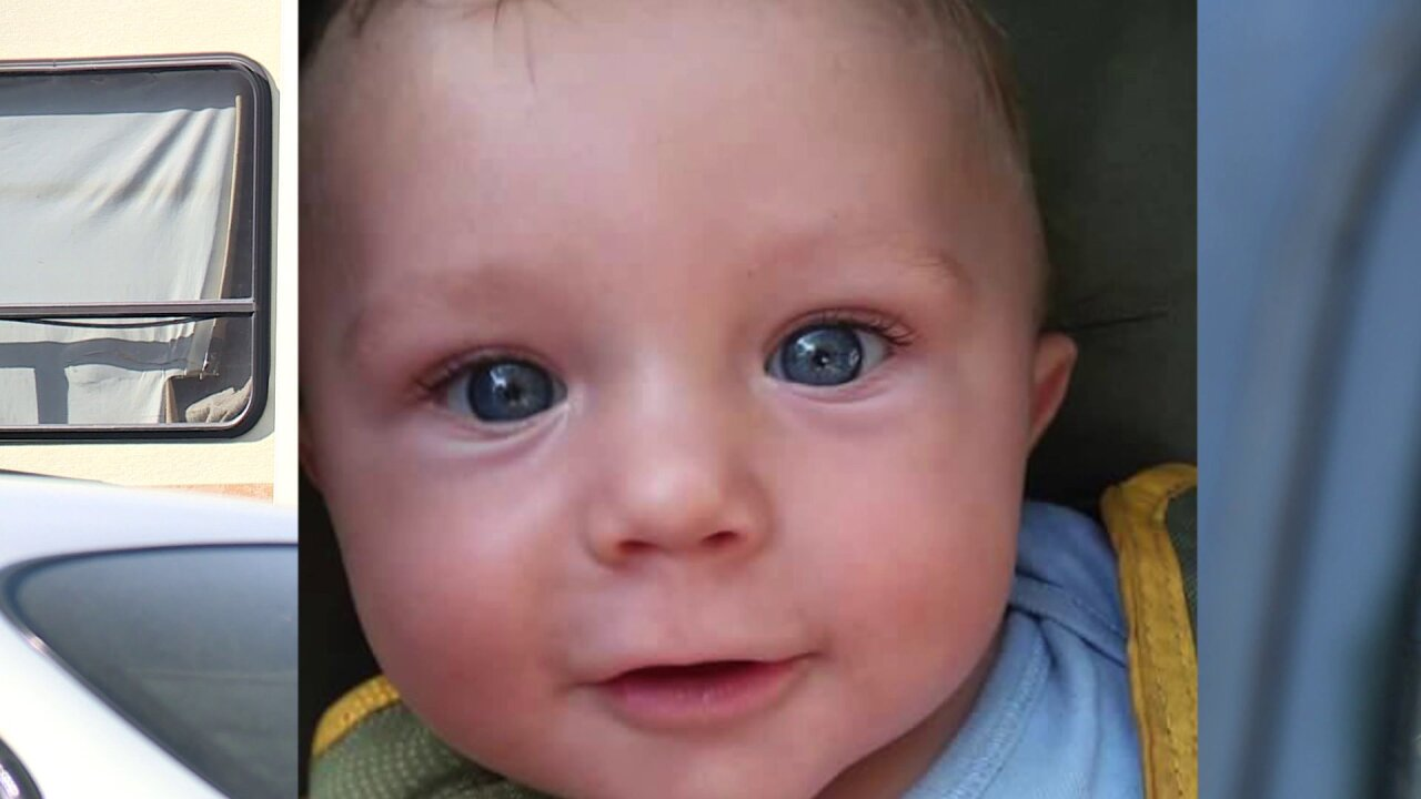 Family member says infant who died in RV choked onsomething