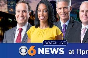 CBS 6 News at 11 p.m.
