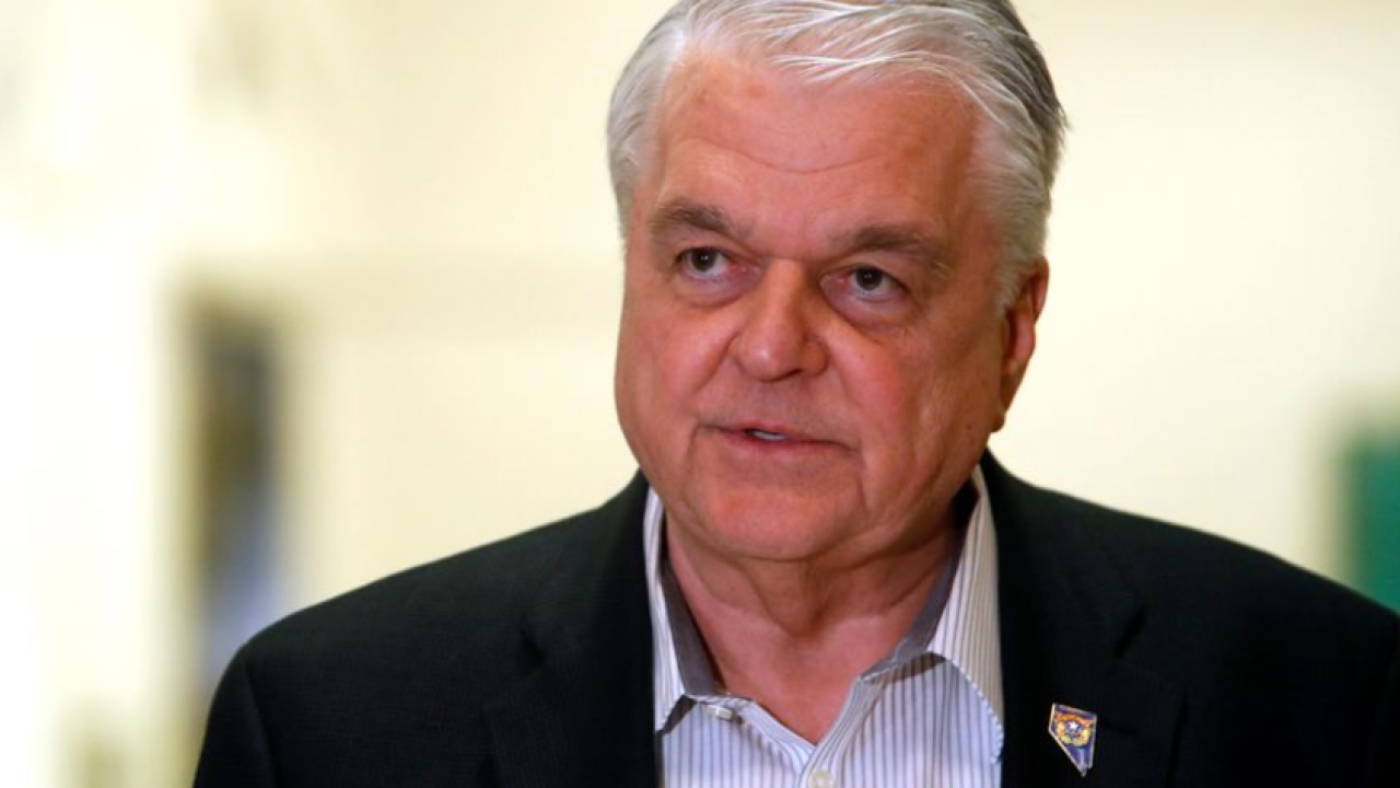 Nevada Gov. Steve Sisolak responds to viral restaurant photos, apologizes