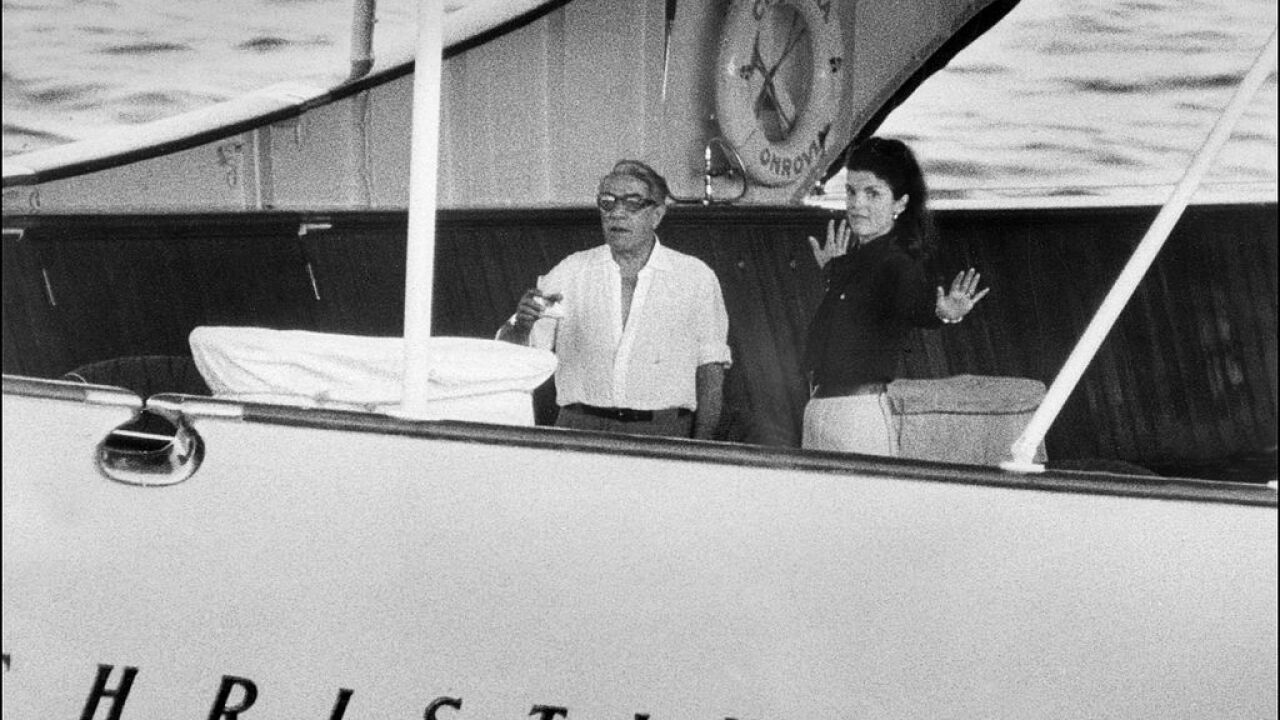 Jackie Kennedy and Aristotle Onassis' former yacht is available for rent