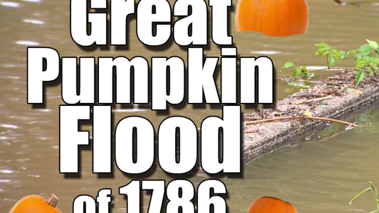 Halloween without pumpkins: The Great Pumpkin Flood
