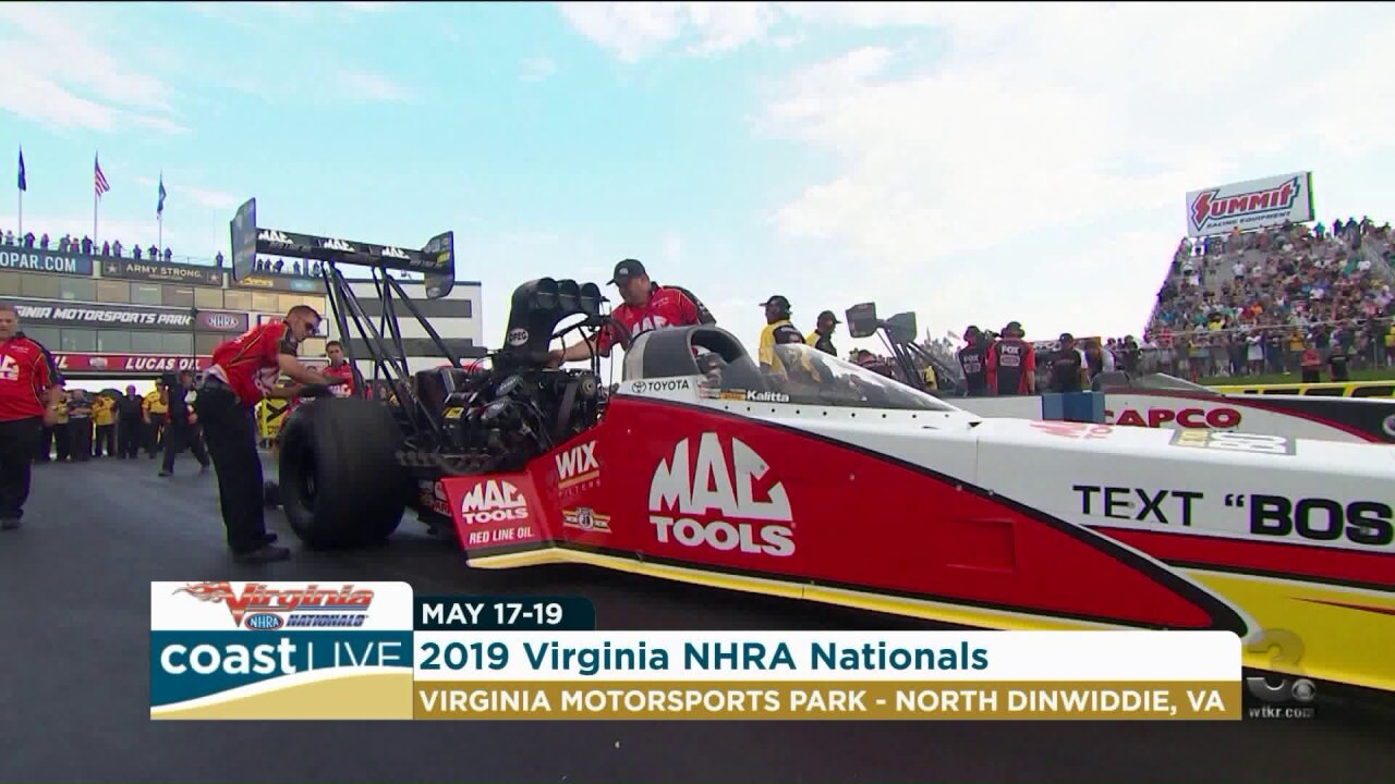 The journey of an NHRA Pro Stock drag racer on Coast Live