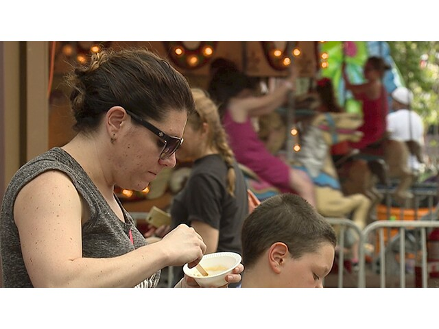 The 2017 Geagua County Maple Festival draws large crowds