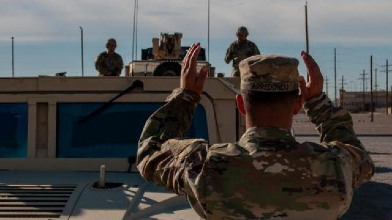 Camp Pendleton Marines deployed to border