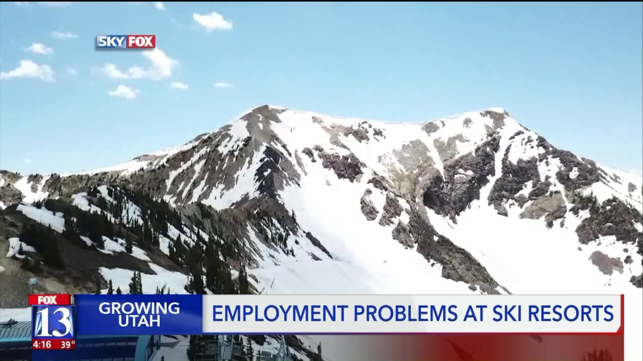 Low unemployment makes it harder for ski resorts to attract seasonalstaff