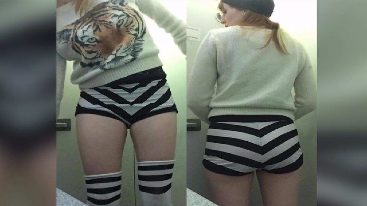 Short shorts get dancer barred from flight
