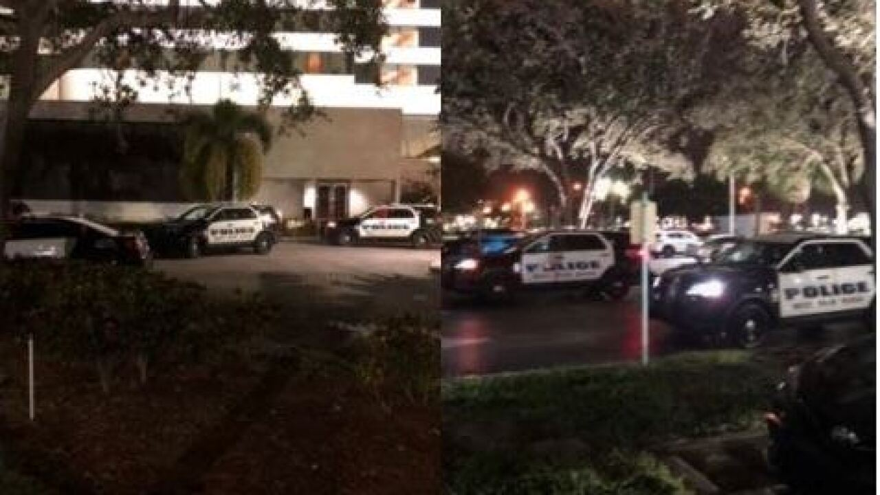 Embassy Suites accidental shooting in West Palm Beach