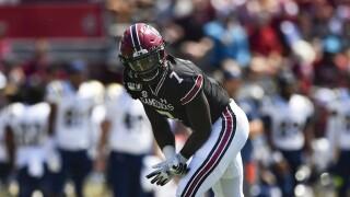 South Carolina Gamecocks defensive back Jammie Robinson in 2019