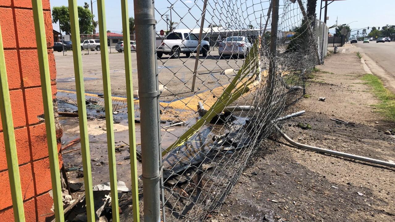 California Avenue Accident