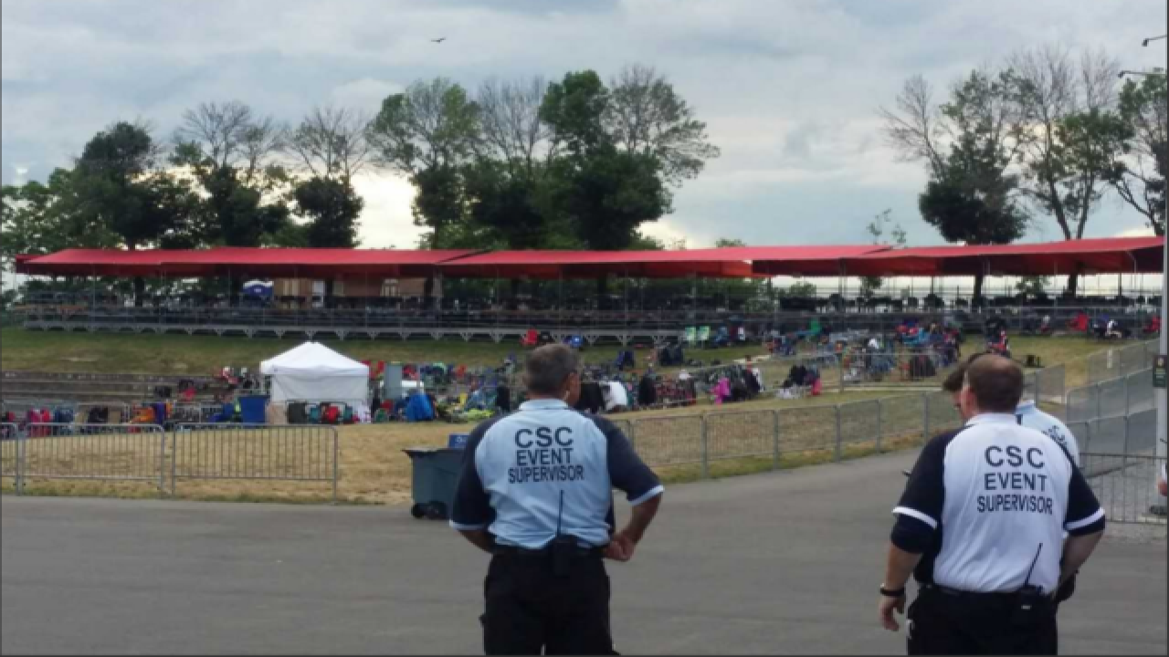 Partial evacuation at ArtPark