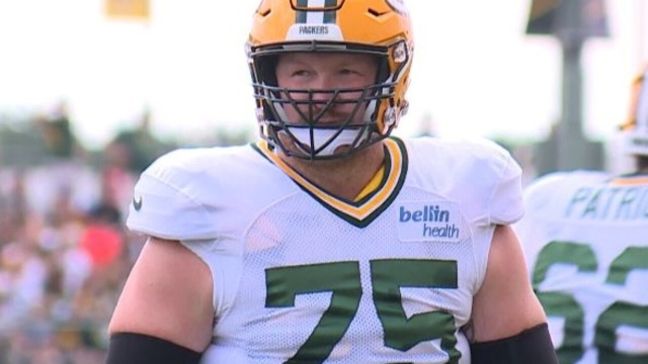 Packers offense happy to have Bryan Bulaga back ahead of schedule
