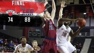 Blazers Fall to Lee, 88-74