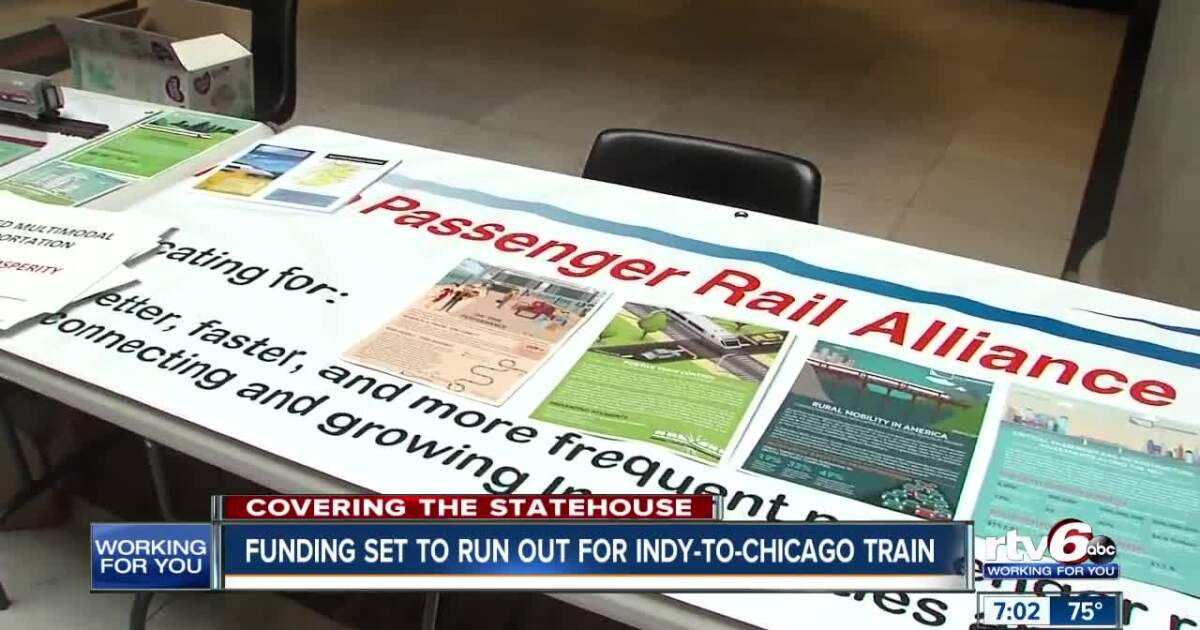 Funding set to run out for Indianapolis to Chicago train