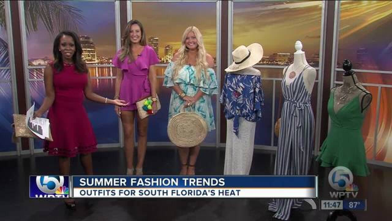 Summer fashion trends in South Florida