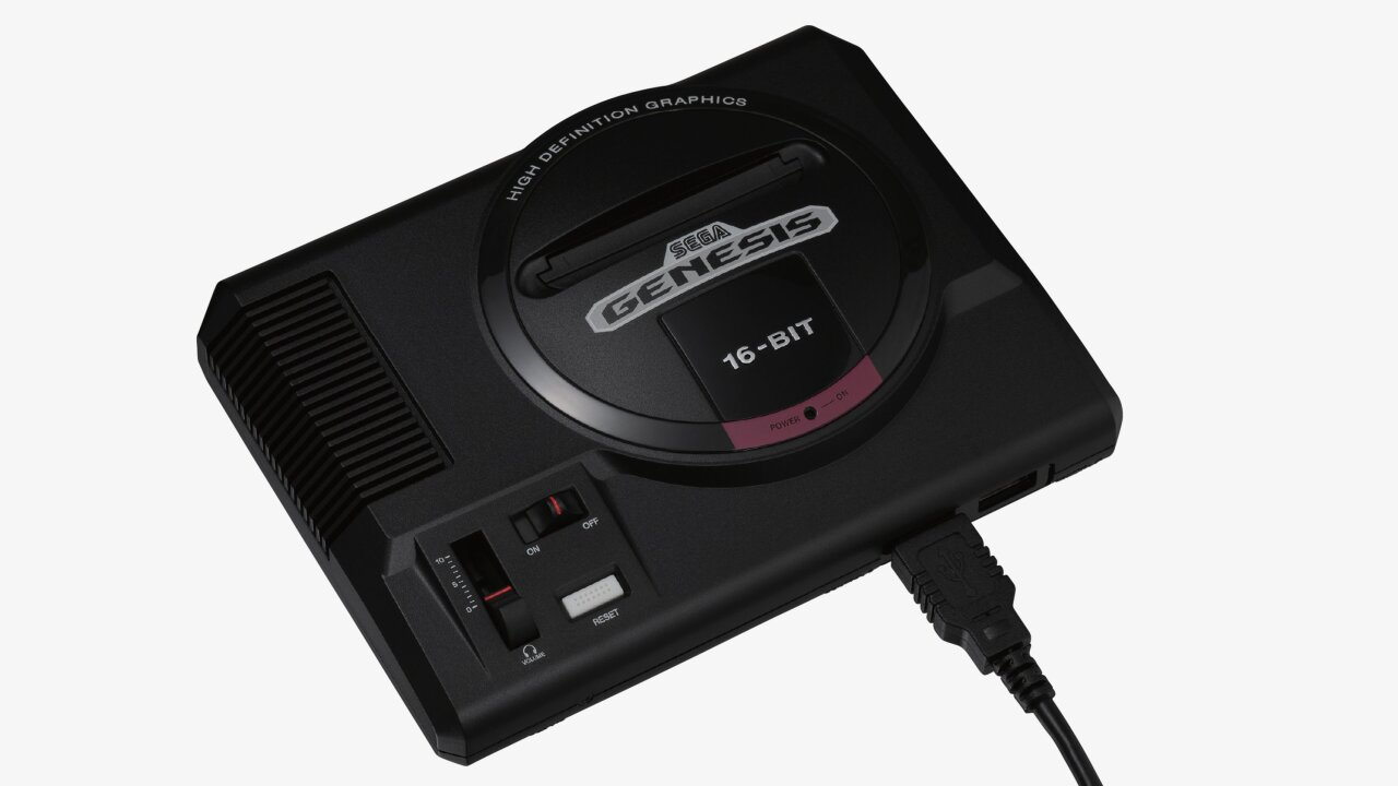 Sega returns with a nostalgic console from the late 80s