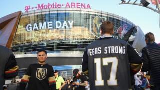 PHOTOS: Local fans show Vegas Golden Knights spirit