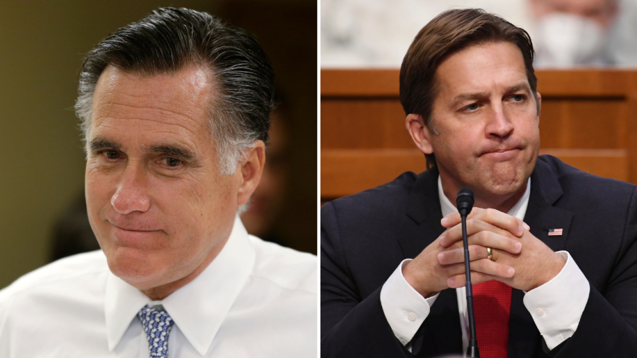 Romney calls Trump's efforts to overturn election 'undemocratic,' Sasse slams Giuliani presser