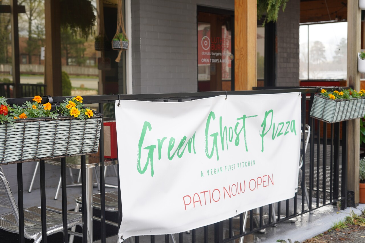 Green Ghost Pizza