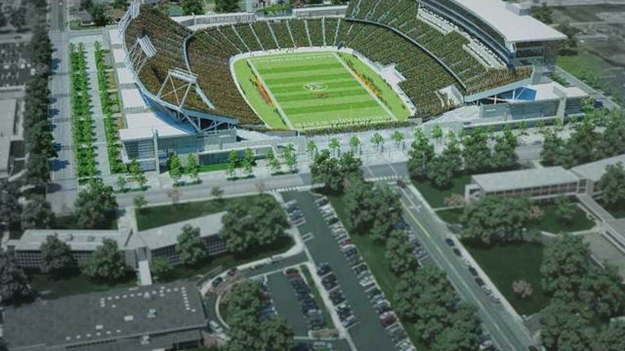 New CSU stadium to be named Sonny Lubick Field