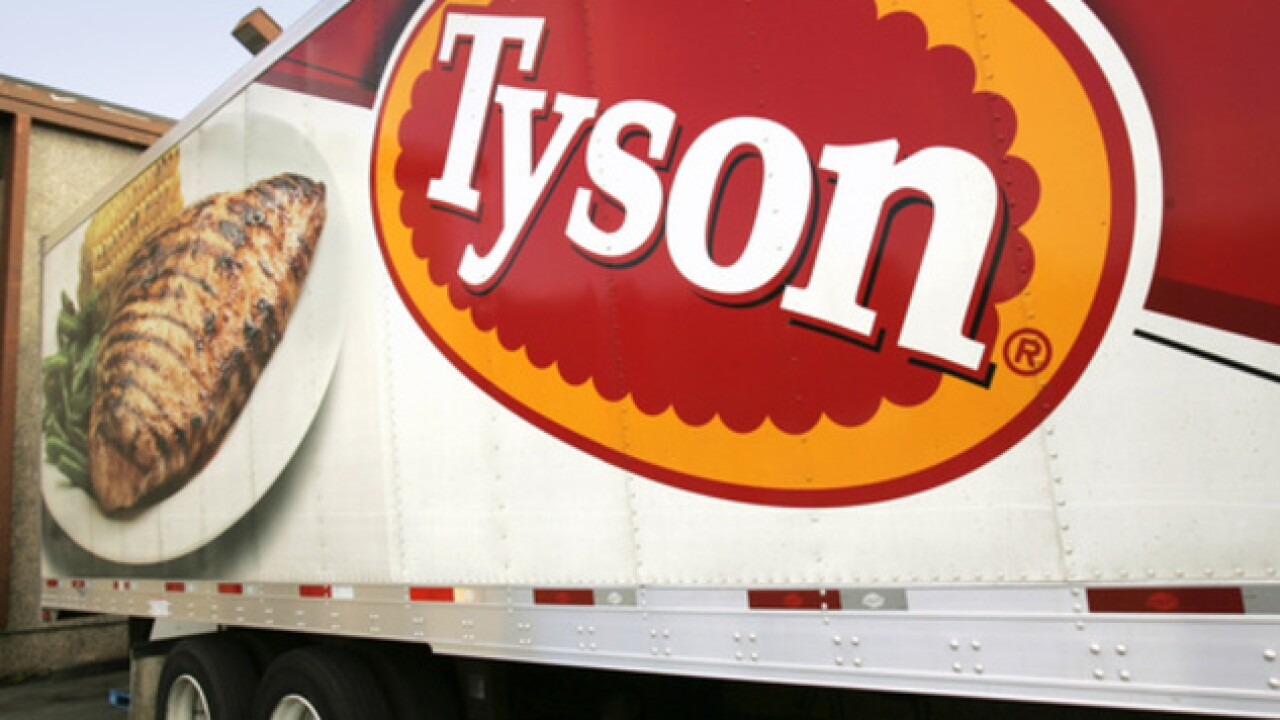 Tyson recalls nearly 2.5 million pounds of chicken