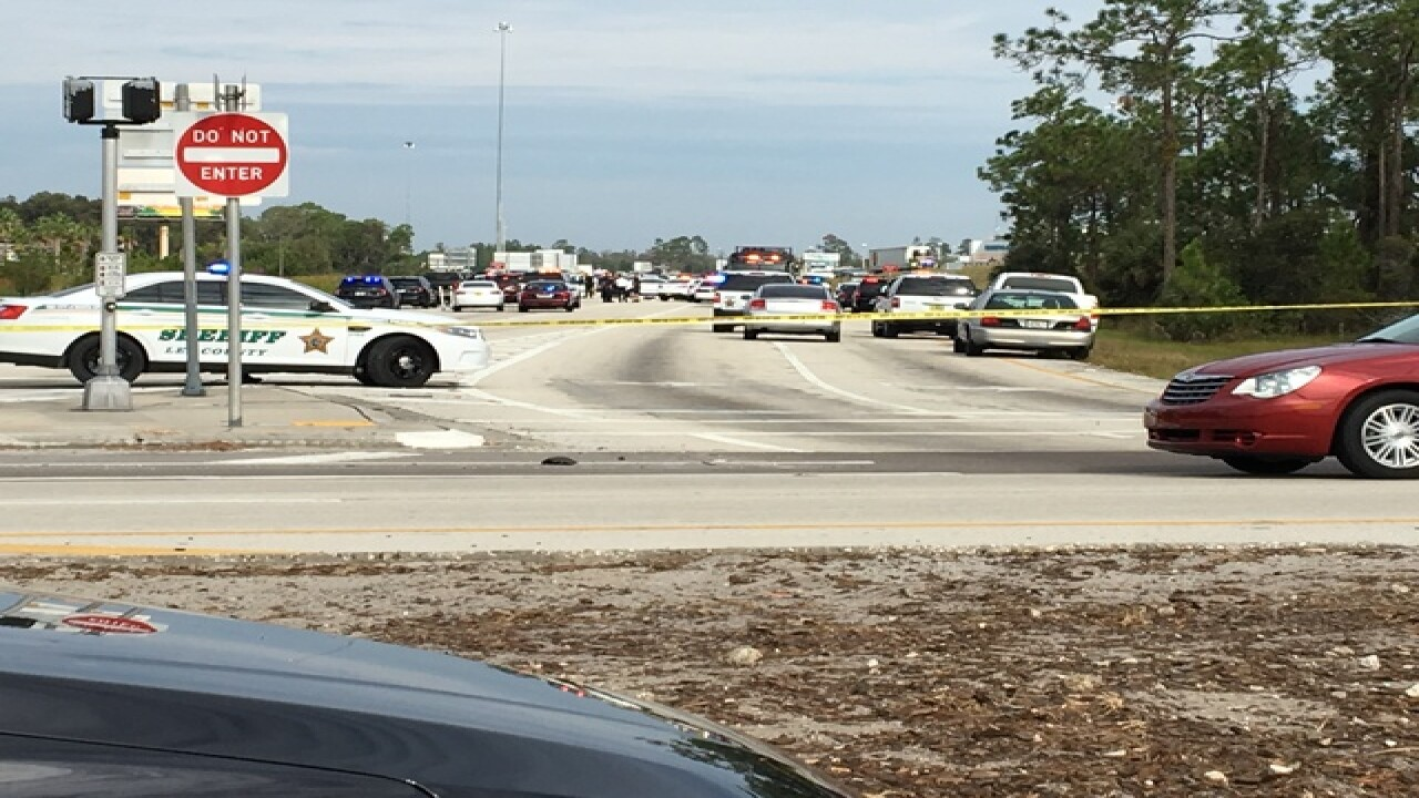 Police activity closes parts of I-75 south