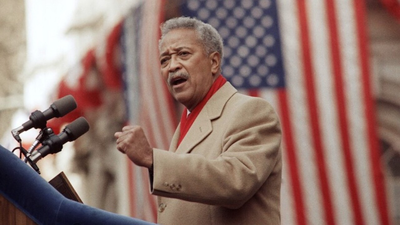 David Dinkins: New York City's first Black mayor dead at 93