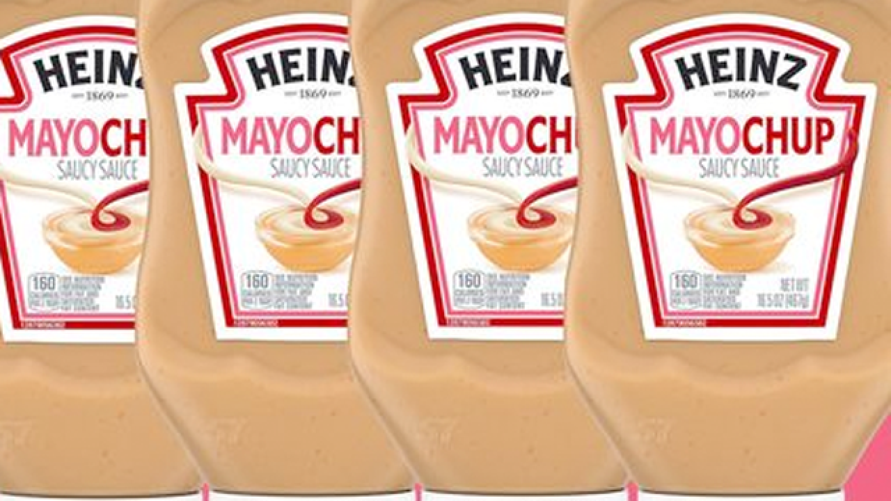 Heinz officially debuts 'Mayochup' sauce