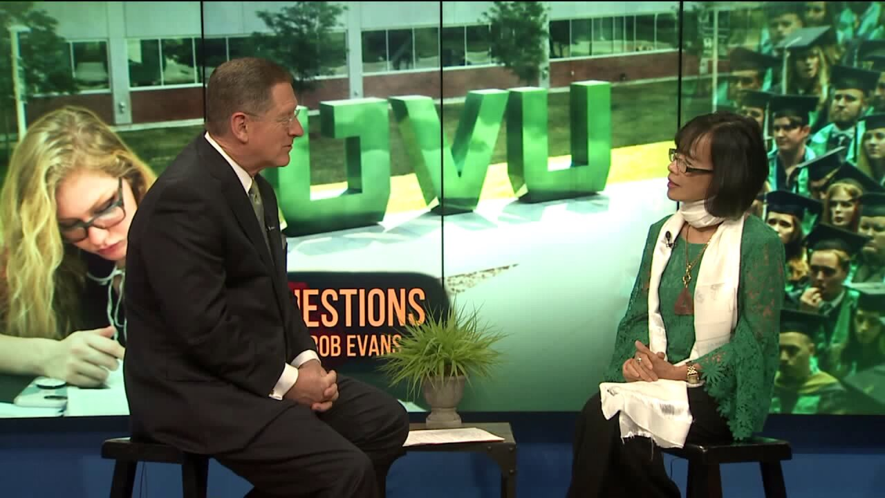 3 Questions with Bob Evans: Astrid Tuminez on being UVU's first femalepresident