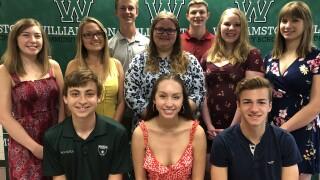 Williamston Top 10 Students