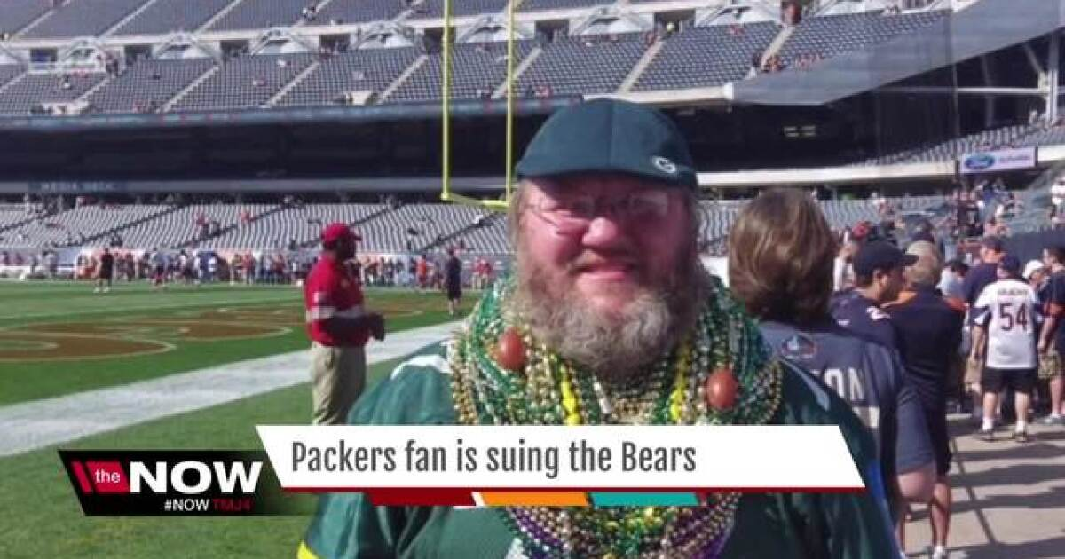Green Bay Packers fan sues Chicago Bears over dress code d15b4d37e