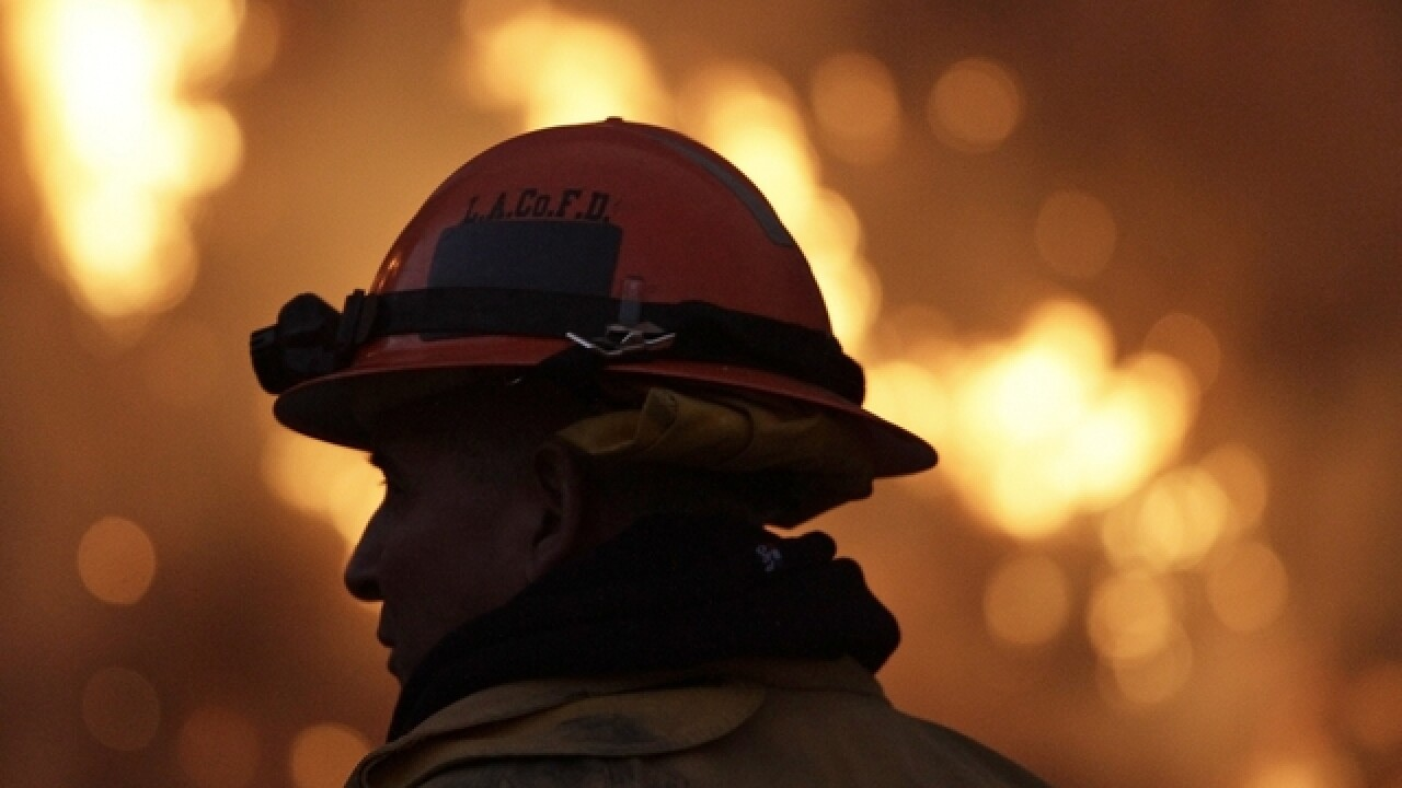 Firefighter shot to death in Maryland