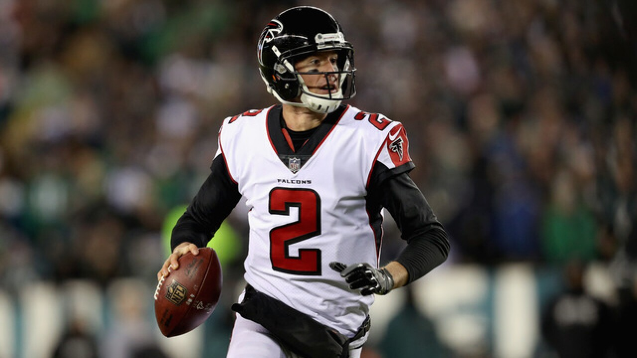 QB Matt Ryan agrees to 5-year contract extension with Falcons