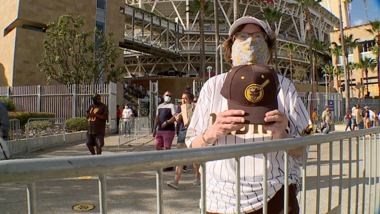 Padres Super Fan Susie Butcher with hat.png