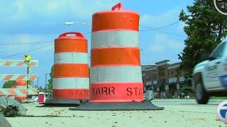 Closures for upcoming construction weekend