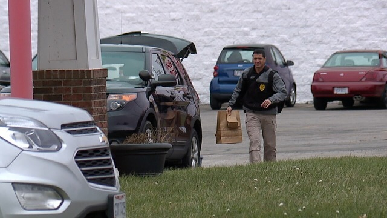 Search warrant served at vet, owner kills self