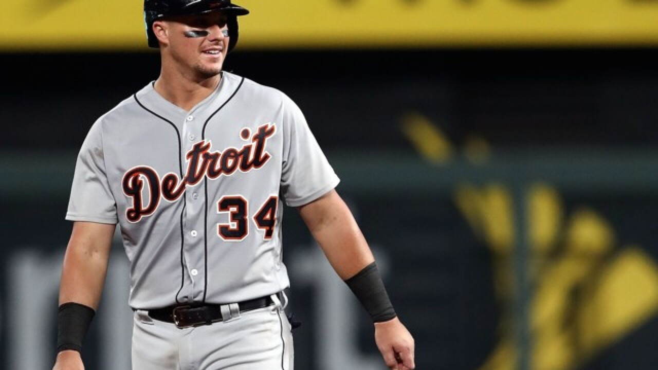 Tigers rally with five-hit, three-run ninth to beat Royals