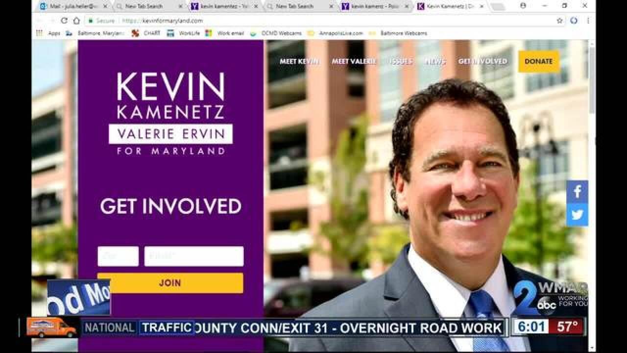 BaltimoreCo.Exec. Kevin Kamenetz dies at 60