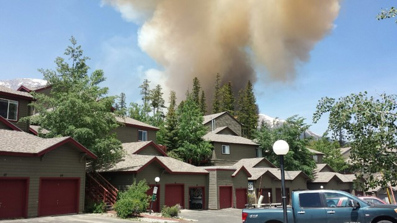 Silverthorne-area evacuating for wildfire