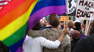 Reverend starts peaceful protest for LGBT community