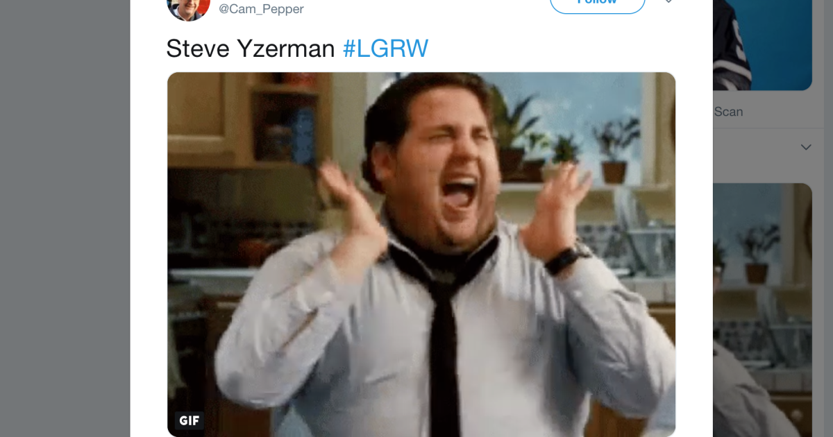 Red Wings fans react to Steve Yzerman general manager news