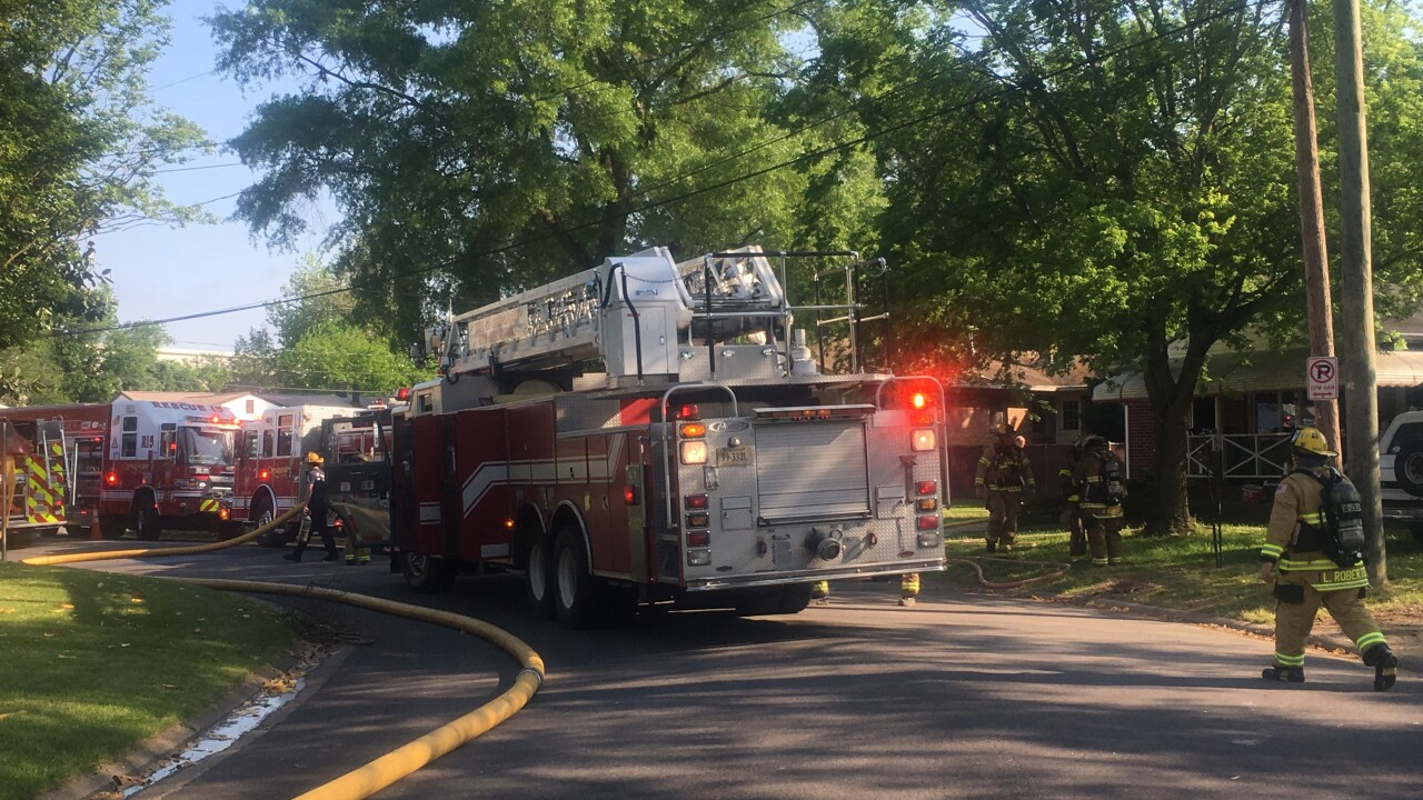 4 people displaced by Chesapeake fire