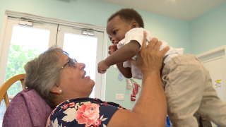 A Tequesta non-profit organization that helps young single moms is looking for volunteers to help care for babies.