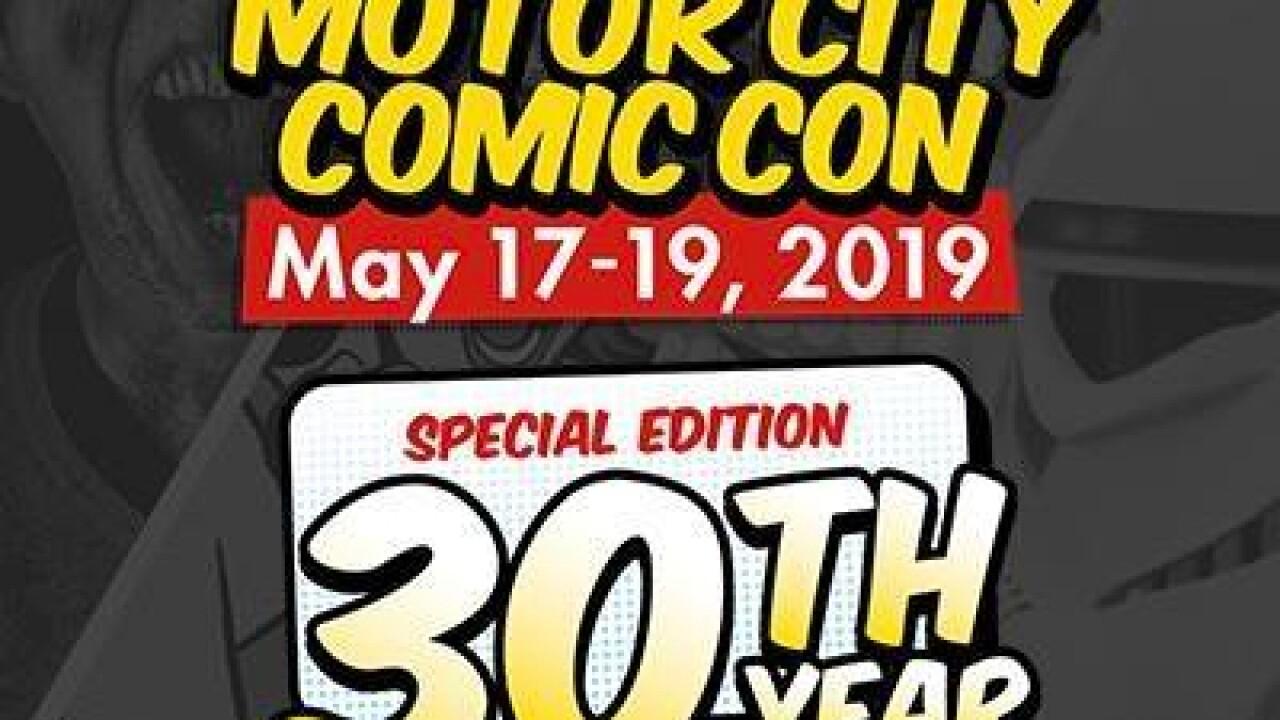 Motor City comic con 30th anniversary 2019.jpg