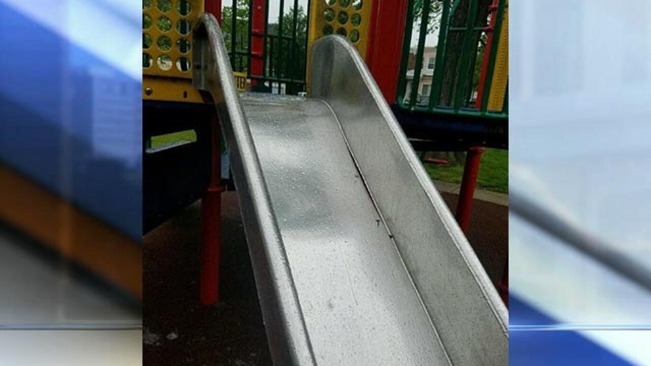 Slides recalled after 2 kids suffer amputations