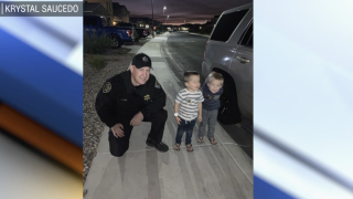 Toddler's Halloween saved by MCSO detective Jeff Dunst