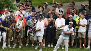 Bryson DeChambeau at Memorial golf tournament, June 4, 2021