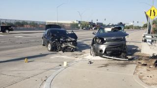 Broadway Road red light crash
